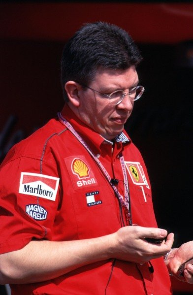 1999 San Marino Grand Prix.Imola, Italy. 30/4-2/5 1999.Ferrari Technical Director Ross Brawn.World Copyright - LAT Photographic