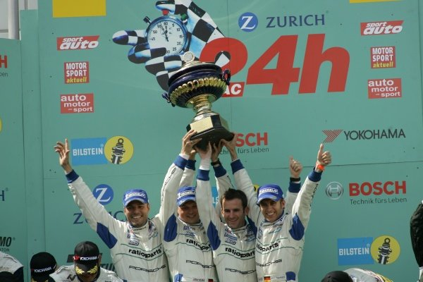 Marcel Tiemann (GER) / Marc Lieb (GER) / Romain Dumas (FRA) /  Timo Bernhard (GER) Manthey Racing won the race.