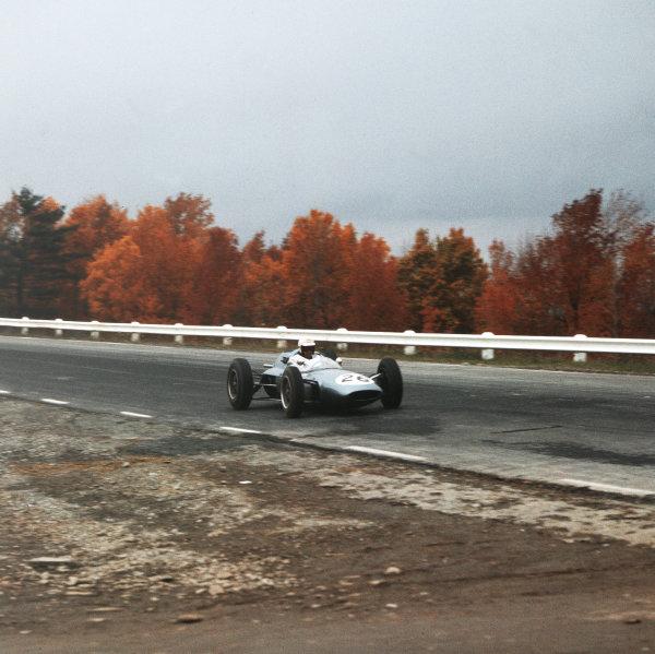Watkins Glen, New York, USA.5-7 October 1962.Rob Schroeder (Lotus 24 Climax) 10th position.Ref-3/0690U.World Copyright - LAT Photographic