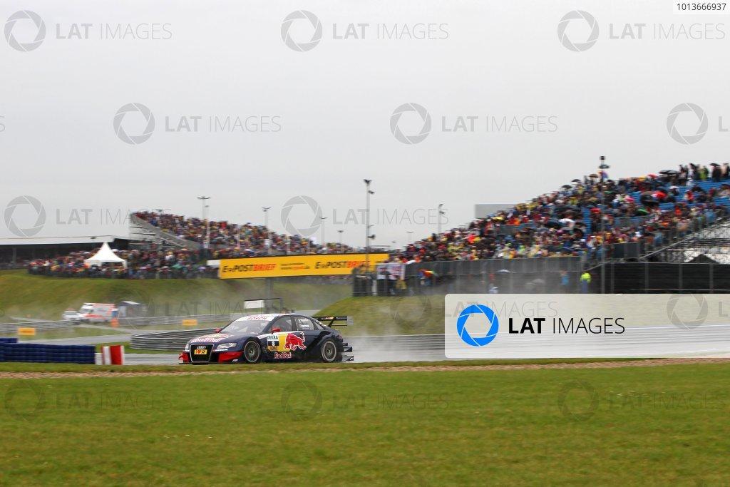 Race winner Mattias Ekstrom (SWE), Audi Sport Team Abt Sportsline, Red Bull Audi A4 DTM (2009).DTM, Rd8, Oschersleben, Germany, 16-18 September 2011 Ref: Digital Image dne1118se518