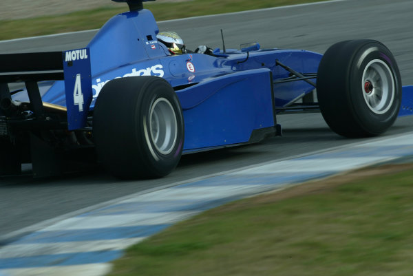 2004 F3000 Testing.Mattias Lauda, Coloni Motorsport.Jerez, Spain.17-18th February 2004.Wolrd Copyright: Spinney/LAT Photographic.Ref.: Digital Image Only.
