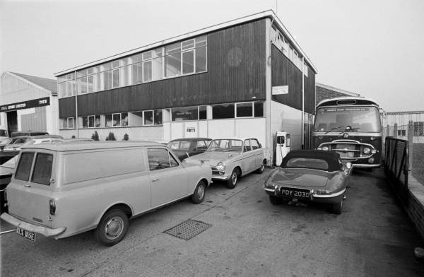 The Brabham Factory in 1967