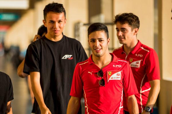 2017 FIA Formula 2 Round 11. Yas Marina Circuit, Abu Dhabi, United Arab Emirates. Thursday 23 November 2017. Antonio Fuoco (ITA, PREMA Racing).  Photo: Zak Mauger/FIA Formula 2. ref: Digital Image _56I8746