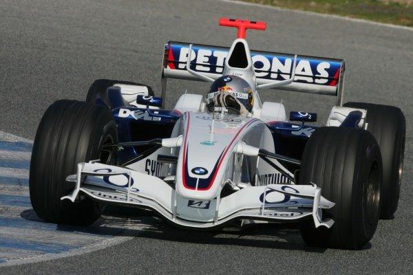 Sebastian Vettel (GER) BMW Sauber Third Driver.  Formula One Testing, Day 3, Jerez, Spain. 15 December 2006 DIGITAL IMAGE