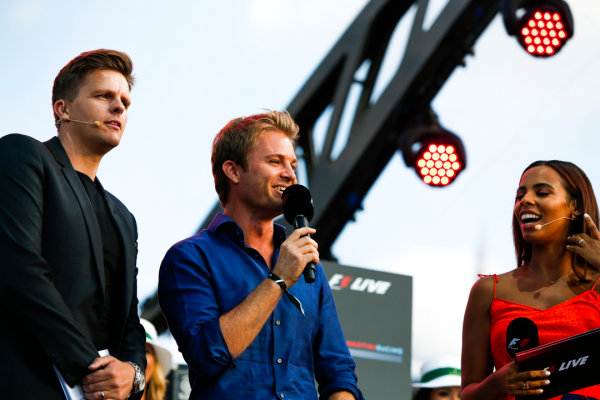 London, United Kingdom.  Wednesday 12 July 2017. World Champion Nico Rosberg. World Copyright: Joe Portlock/LAT Images  ref: Digital Image _L5R8607