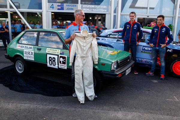 2017 FIA World Rally Championship, Round 09, Rally Finland / July 27 - 30, 2017, John Kennerd and Hayden Paddon, Hyundai, portrait, Worldwide Copyright: McKlein/LAT