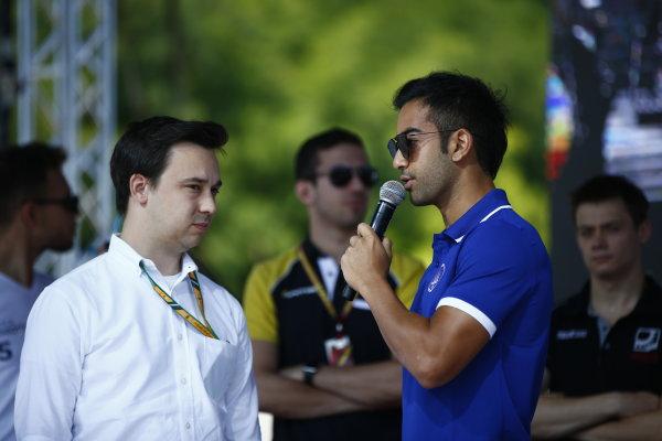 2017 FIA Formula 2 Round 7. Hungaroring, Budapest, Hungary. Saturday 29 July 2017. Nabil Jeffri (MAS, Trident).  Photo: Andy Hone/FIA Formula 2. ref: Digital Image _ONY0711