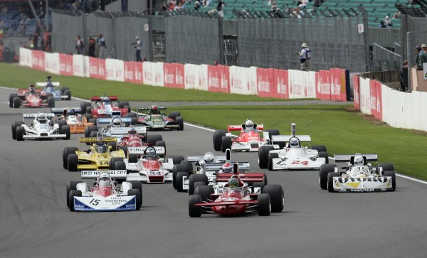 2007 Silverstone ClassicSilverstone, England. 28th & 29th July 2007.James Hunt Trophy for Formula One cars / GPMWorldwide Copyright: Colin McMaster/LATRef:_P6B0684 JPG.
