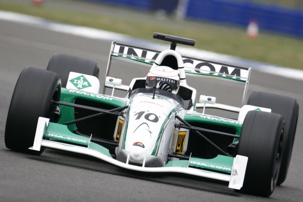 2006 Grand Prix Masters.Silverstone, England. 11th - 13th August.Andrea De Cesaris.Action.   World Copyright: Drew Gibson/LAT Photographic.Ref: Digital Image Only.