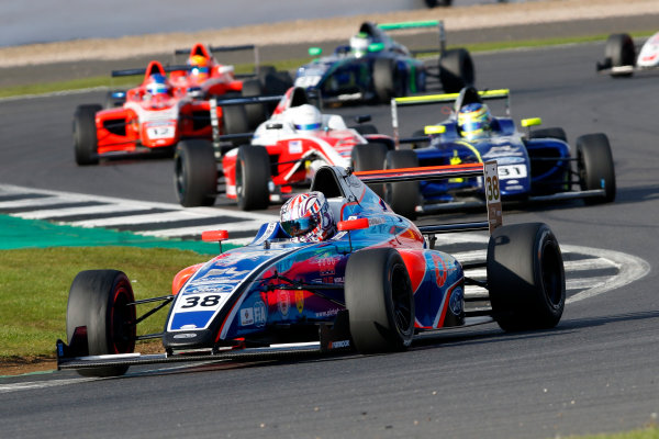 2017 MSA British F4 Championship, Silverstone, Northants, UK. 16th-17th September 2017 Jamie Caroline (GBR) Carlin British F4  World copyright. JEP/LAT Images