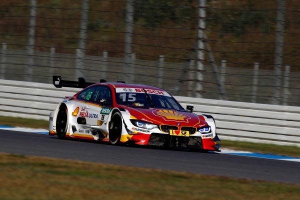 2017 DTM Round 9  Hockenheimring, Germany  Sunday 15 October 2017. Augusto Farfus, BMW Team RMG, BMW M4 DTM  World Copyright: Alexander Trienitz/LAT Images ref: Digital Image 2017-DTM-HH2-AT3-1896