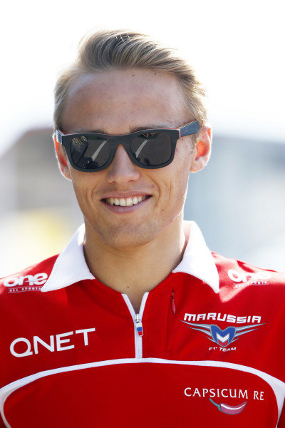 Circuit de Catalunya, Barcelona, Spain. Friday 9 May 2014. Max Chilton, Marussia F1. World Copyright: Charles Coates/LAT Photographic. ref: Digital Image _N7T8427