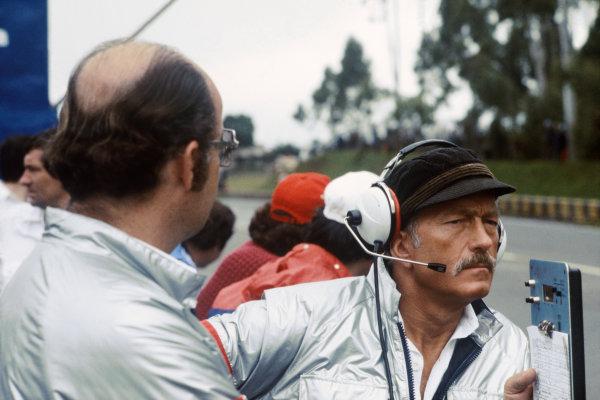 Interlagos, Sao Paulo, Brazil. 25-27 January 1980.Colin Chapman (Team Owner, Essex Team Lotus). Portrait.World Copyright: LAT PhotographicRef: 35mm transparency 80BRA10