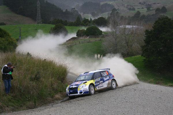 2010 FIA World Rally ChampionshipRound 05Rally New Zealand 7 - 9 May  2010Patrik Sandell, Skoda S2000, actionWorldwide Copyright: McKlein/LAT