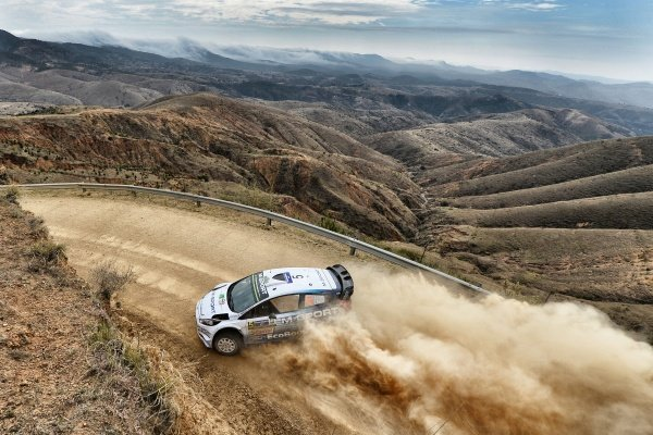Elfyn Evans (GBR) / Daniel Barritt (GBR) Ford Fiesta RS WRC at World Rally Championship, Rd3, Rally Mexico, Day One, Leon, Mexico, 6 March 2015.