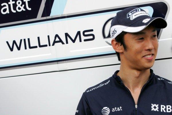 Kazuki Nakajima (JPN) Williams. Formula One World Championship, Rd 8, French Grand Prix, Race, Magny-Cours, France, Sunday 22 June 2008.