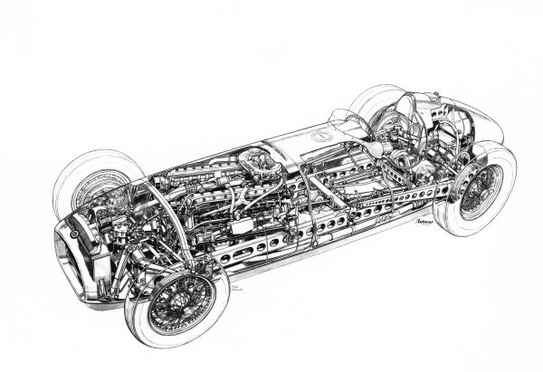 1951 BRM P15.