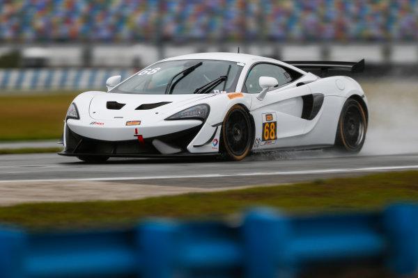 5-8 January, 2017, Daytona Beach, Florida USA 68, McLaren, McLaren GT4, GS, Chris Green ?2017, Jake Galstad LAT Photo USA