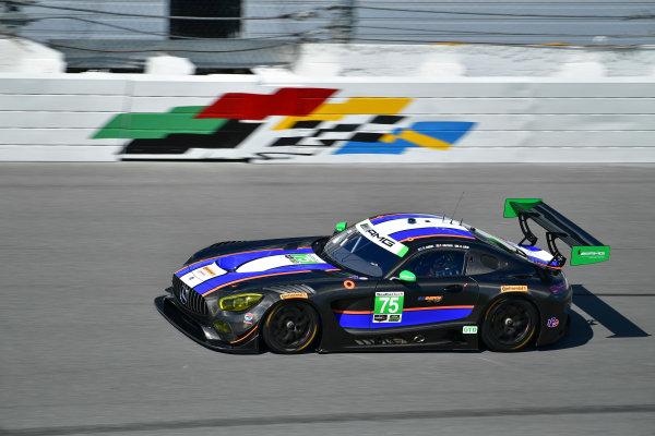 13-14 December 2016,  Daytona Beach, Florida USA 75, Mercedes, Mercedes AMG GT3, GTD, Boris Said, Tristan Vautier, Kenny Habul ?2016, Richard Dole LAT Photo USA