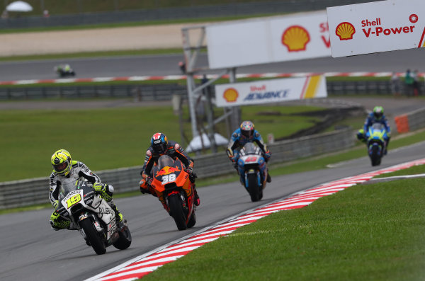 2017 MotoGP Championship - Round 17 Sepang, Malaysia. Sunday 29 October 2017 Alvaro Bautista, Aspar Racing Team World Copyright: Gold and Goose / LAT Images ref: Digital Image 26645