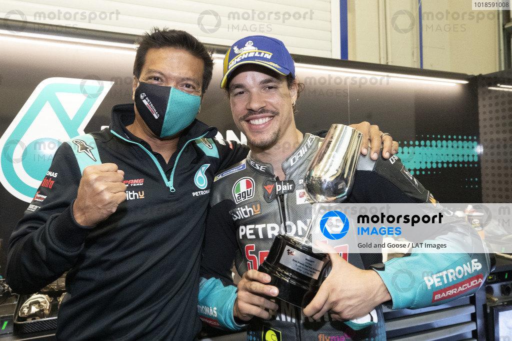Razlan Razali, Franco Morbidelli, Petronas Yamaha SRT.