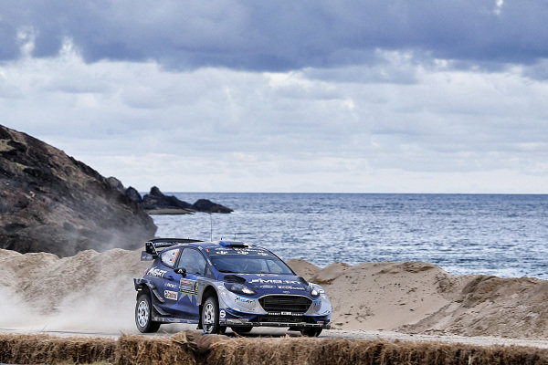 Ott Tanak (EST) / Martin Jarveoja (EST), M-Sport World Rally Team Ford Fiesta WRC at World Rally Championship, Rd13, Rally Australia, Day One, Coffs Harbour, New South Wales, Australia, 17 November 2017.