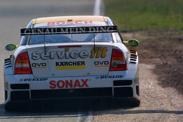 2001 DTM ChampionshipZandvoort, Holland. 22nd - 23rd September 2001.Manuel Reuter (Opel Team Phoenix), action.World Copyright: Peter Spinney/LAT Photographicref: 8 5mb Digital Image Only