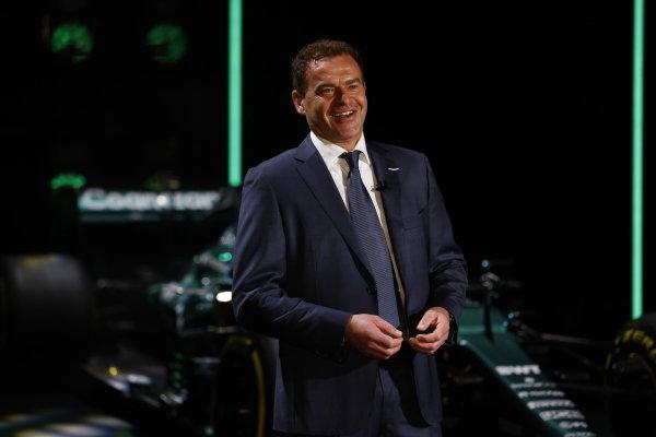 Tobias Moers, CEO, Aston Martin