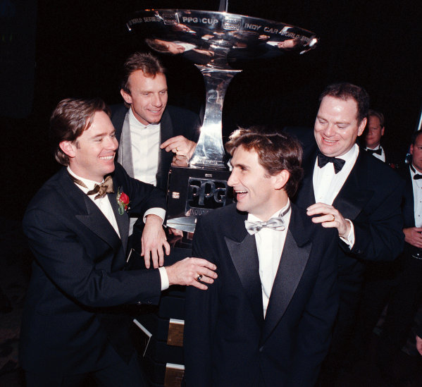 1996 CART Awards banquetVasser, Montana, Zanardi and Ganassi-1996, Michael L. LevittLAT Photographic