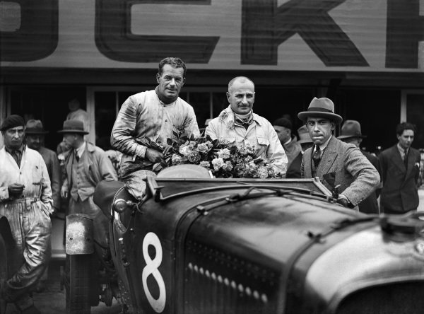 Frank Clement / Jean Chassagne, Bentley Motors Ltd., Bentley 4½ Litre.