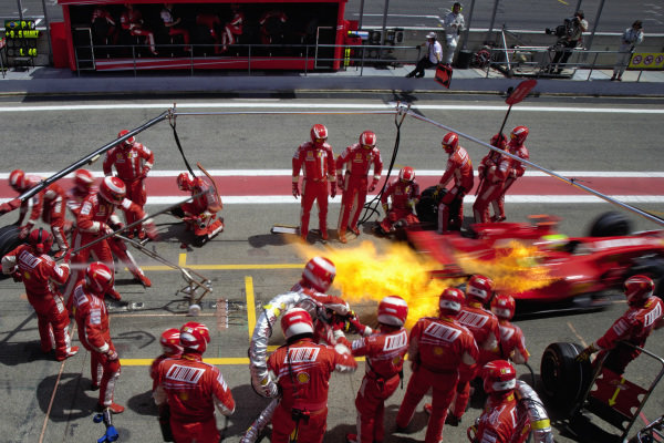 An overview of refuelling in Formula 1