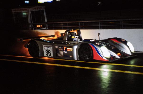 Didier de Radigues / Hideshi Matsuda / Sascha Maassen, Dick Barbour, Reynard 01Q.