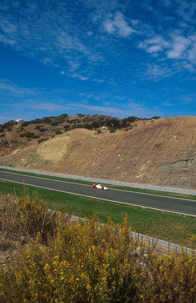 1994 European Grand Prix.Jerez, Spain.14-16 October 1994.Mika Hakkinen (McLaren MP4/9 Peugeot) 3rd position.Ref-94 EUR 03.World Copyright - LAT Photographic