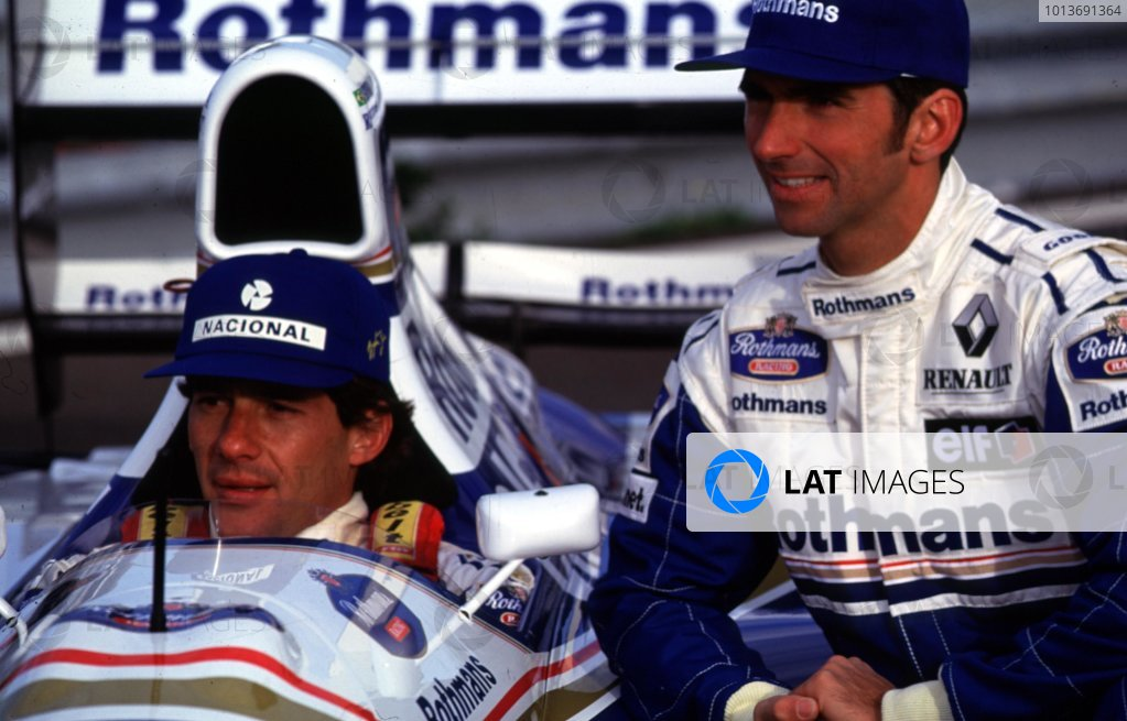1994 Williams FW16-Renault Launch.