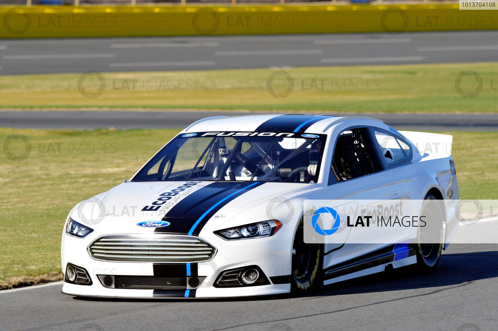 2012 NASCAR 2013 Ford Fusion Introduction