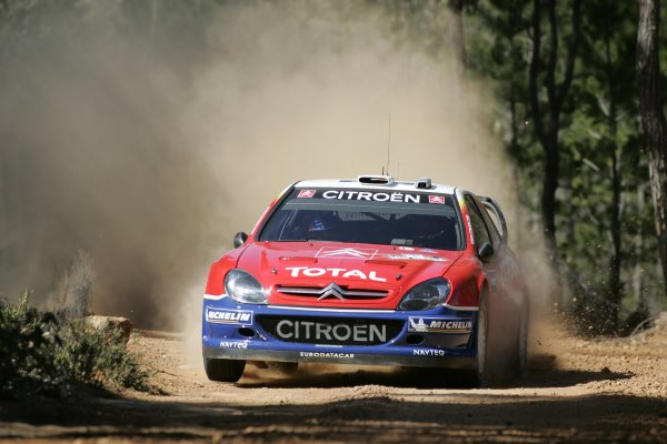 2005 FIA World Rally Champs. Round Sixteen, Rally Australia.10th - 13th November 2005.Sebastien Loeb, Citroen, action.World Copyright: McKlein/LAT