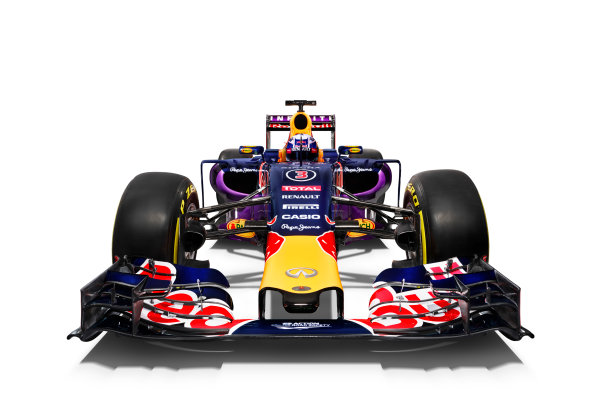 Infiniti Red Bull Racing RB11 Studio Images. Milton Keynes, UK. Sunday 1 March 2015. The Red Bull Racing RB11. Photo: Red Bull Racing (Copyright Free FOR EDITORIAL USE ONLY) ref: Digital Image RB11_LIVERY_02