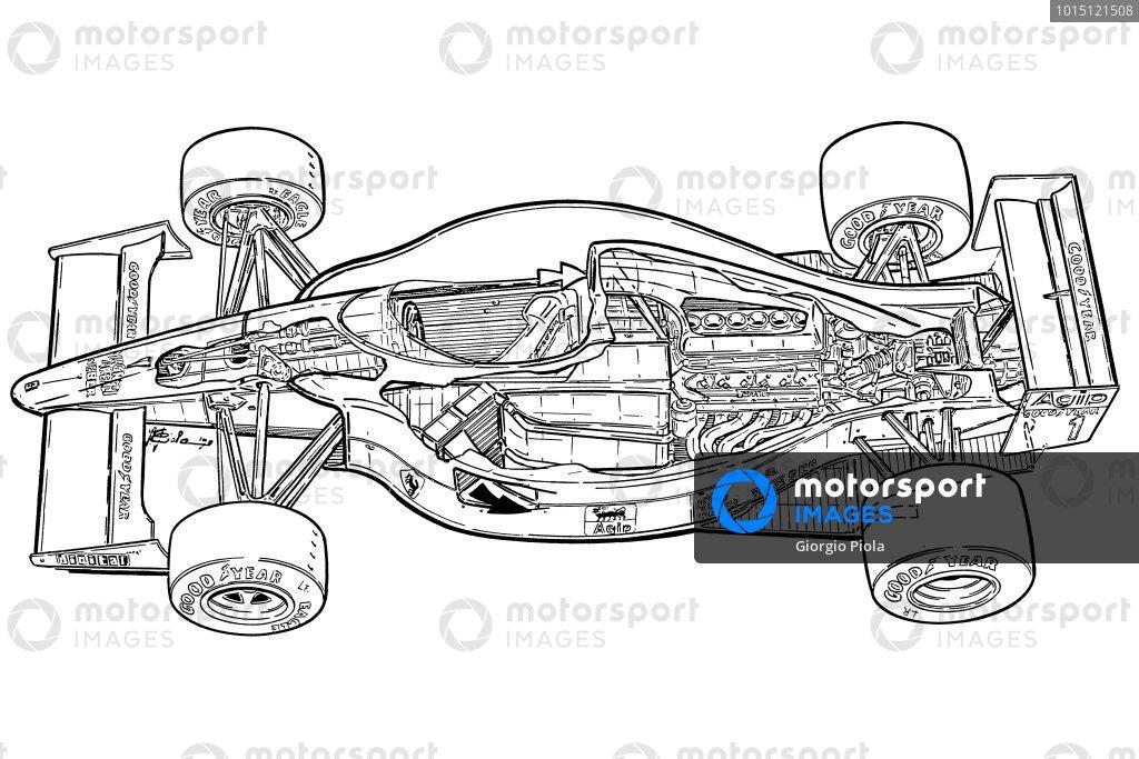 Ferrari F1-90B (641/2) 1990 overview