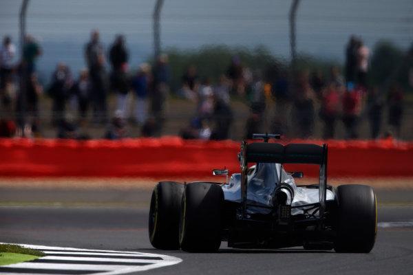 Silverstone, Northamptonshire, UK Friday 08 July 2016. Lewis Hamilton, Mercedes F1 W07 Hybrid. World Copyright: Glenn Dunbar/LAT Photographic ref: Digital Image _W2Q3771