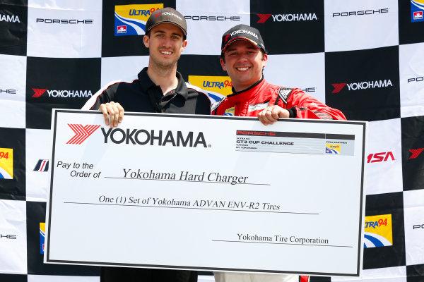 20-22 May 2016, Bowmanville, Ontario, Canada  GT3 Cup Canada, Race 2, Hard Charger Award ?2016, Jake Galstad LAT Photo USA