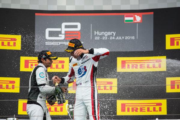 2016 GP3 Series Round 4 Hungaroring, Budapest, Hungary. Sunday 24 July 2016. Alexander Albon (THA, ART Grand Prix)  Photo: Sam Bloxham/GP3 Series Media Service. ref: Digital Image _SBB8322