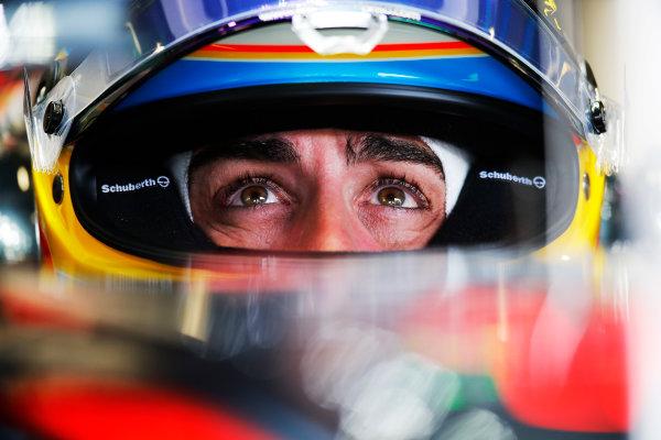 Autodromo Nazionale di Monza, Monza, Italy. Friday 04 September 2015. Fernando Alonso, McLaren.  World Copyright: Steven Tee/LAT Photographic. ref: Digital Image _X0W2415