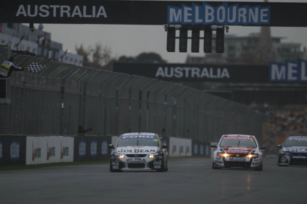 Albert Park Street Circuit, Melbourne, Australia.26th - 28th March 2010.Race action.World Copyright: Mark Horsburgh/LAT Photographicref: Digital Image Race1-V8-F1-10-m02803
