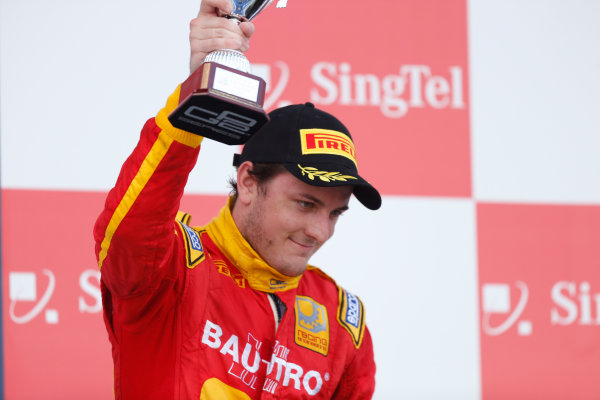 2013 GP2 Series. Round 10.  Marina Bay Circuit, Singapore. 22nd September 2013. Sunday Race.  Fabio Leimer (SUI, Racing Engineering). World Copyright: Andrew Ferraro/GP2 Media Service  ref: Digital Image _79P8441.jpg