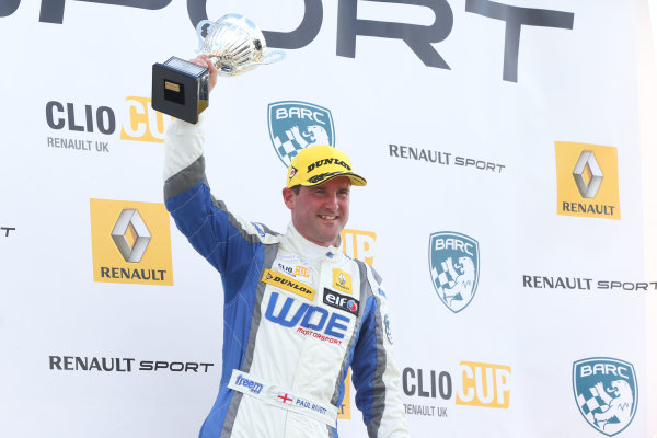 2015 Renault Clio Cup, Croft, 27th-28th June 2015, Paul Rivett (GBR) WDE Motorsport Renault Clio Cup  World copyright. Jakob Ebrey/LAT Photographic