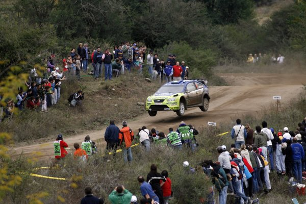 2007 FIA World Rally Champs. Round 6Rally Argentina, 3 May - 6 May Mikko Hirvonen, Ford, actionWorld Copyright: McKlein/LAT