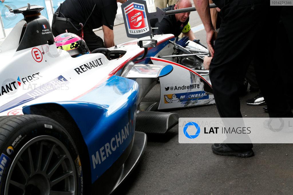 Putrajaya E-Prix Race. Putrajaya E-Prix, Malaysia - 20th-22nd November 2014. Saturday 22 November 2014. Franck Montagny (FRA)/Andretti Motorsport - Spark-Renault SRT_01E  Photo: Adam Warner/LAT/ Formula E ref: Digital Image _L5R4375