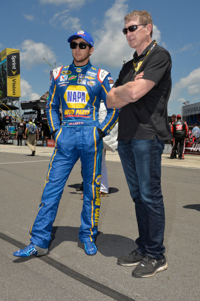 3-5 June, 2016, Long Pond, Pennsylvania USA Chase Elliott (24), Bill Elliott ?2016, John Harrelson / LAT Photo USA
