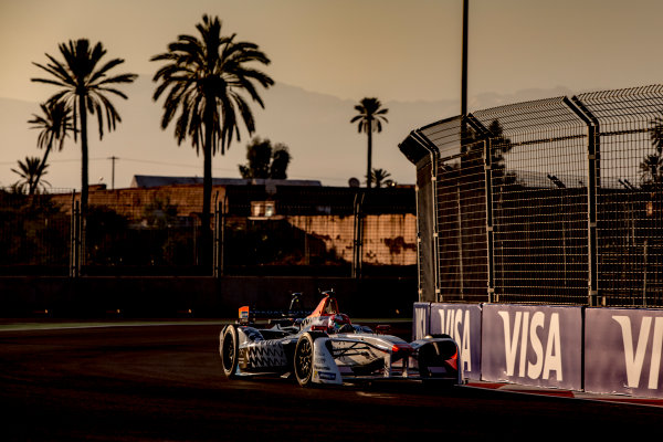 2016/2017 FIA Formula E Championship. Marrakesh ePrix, Circuit International Automobile Moulay El Hassan, Marrakesh, Morocco. Saturday 12 November 2016. Loic Duval (FRA), Dragon Racing, Spark-Penske, Penske 701-EV.  Photo: Zak Mauger/LAT/Formula E ref: Digital Image _X0W5361