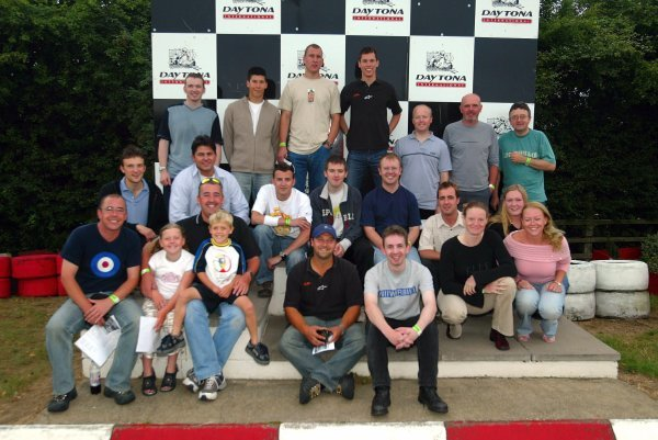 Sutton Motorsport Images karting event post-race photograph (Sutton Motorsport Images staff unless otherwise indicated).